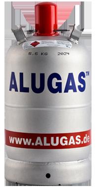 11 Kg Alugas Flasche